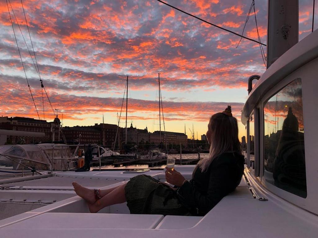 Hébergement insolite à Helsinki sur un bateau !
