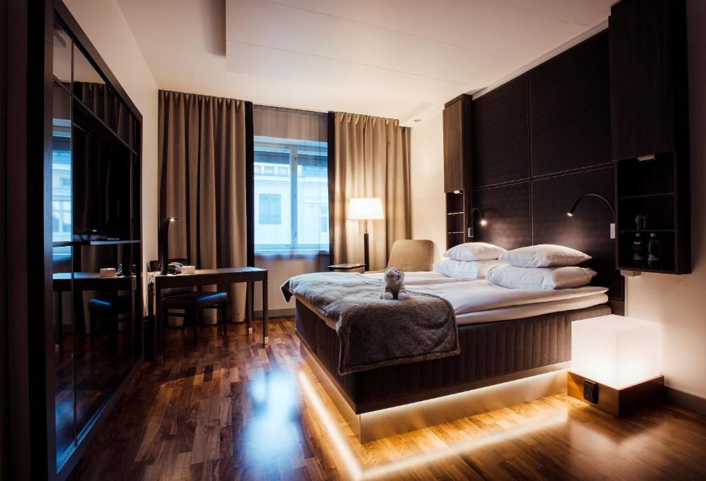 GLO Art Hotel à Helsinki : Luxe et Art Nouveau.