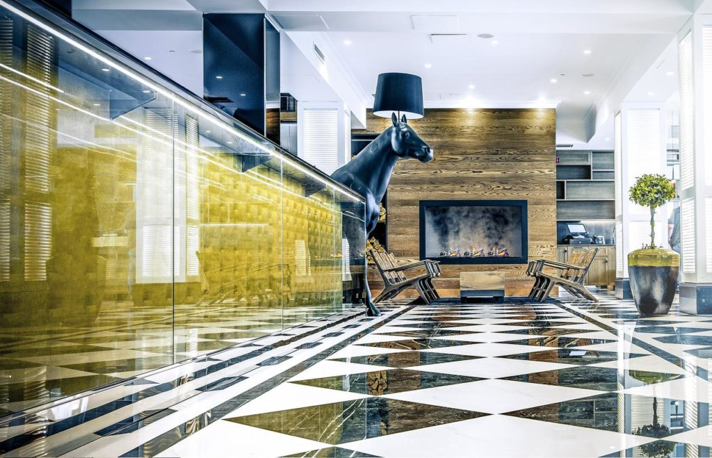 Lilla Roberts, hotel de luxe à Helsinki.