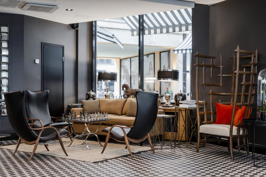 F6, hotel de luxe, élégance et design à Helsinki.