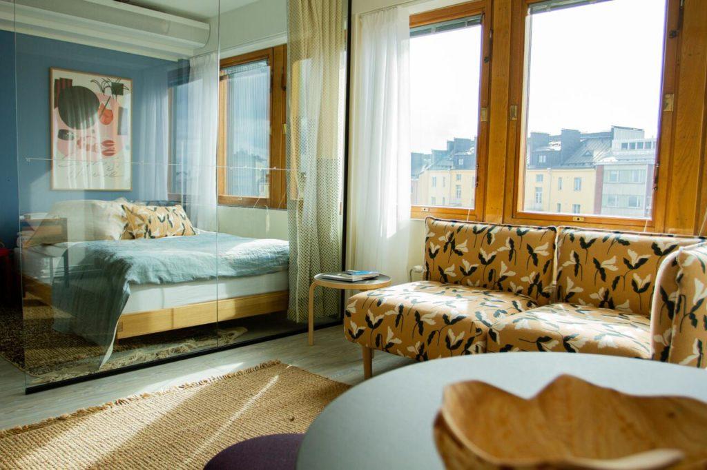 Noli Sornainen, hôtel moderne et pas cher d'Helsinki.