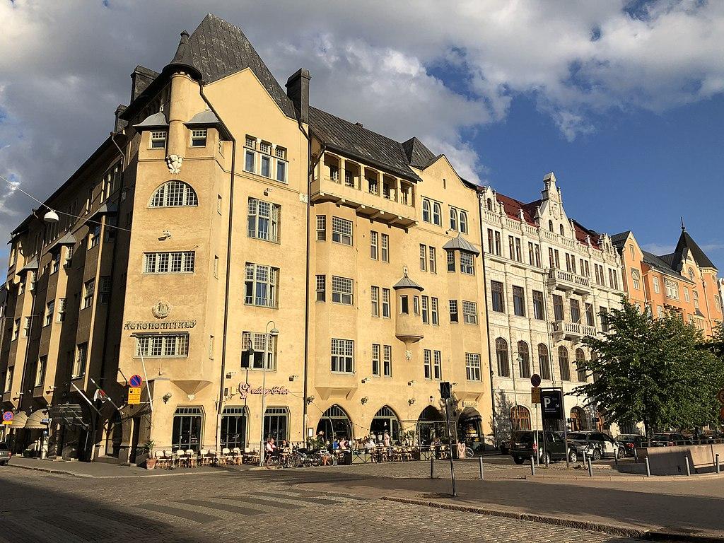 Agronomitalo, construction Art Nouveau à Helsinki.