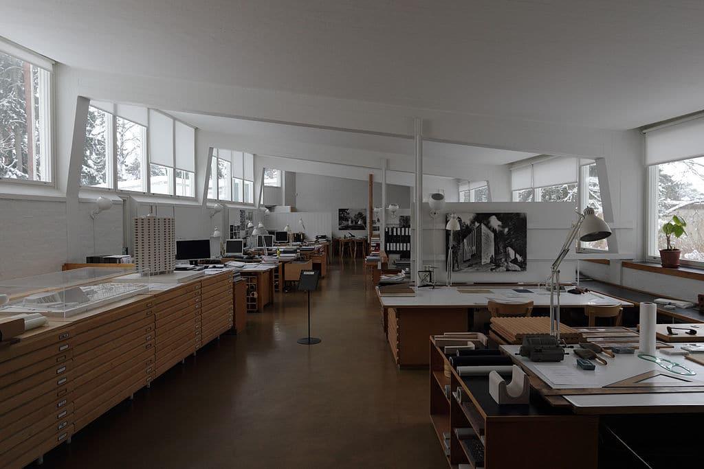 Atelier d'Alvar Aalto à Helsinki - Photo de Pepechibiryu