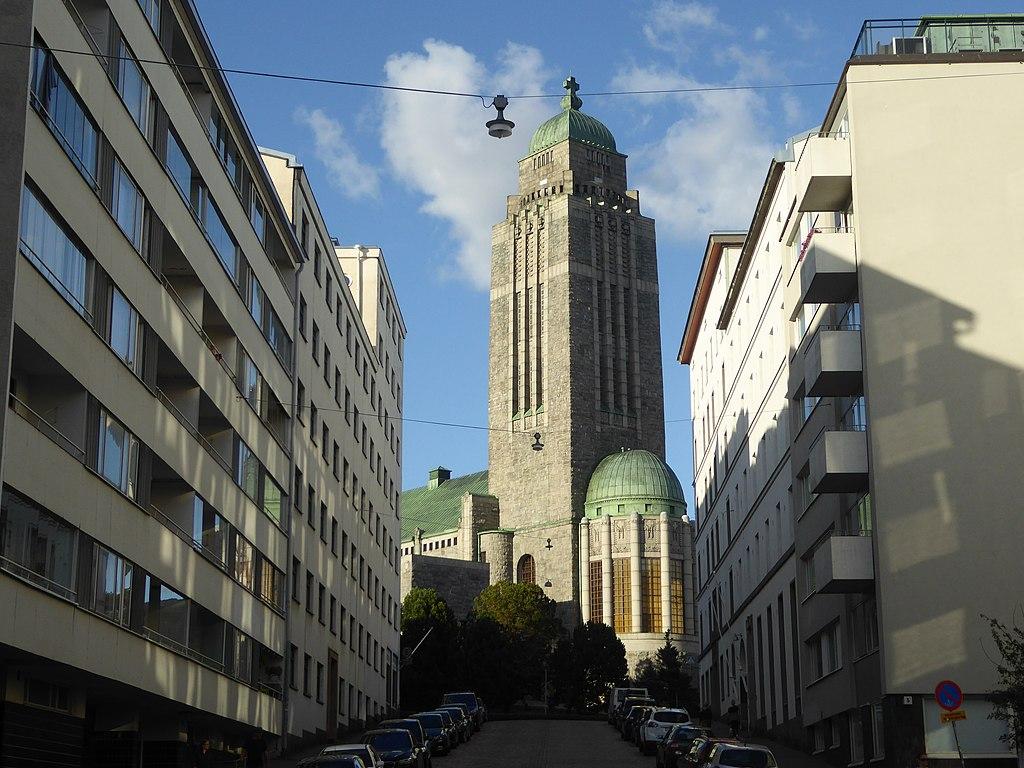Monument à Helsinki : Eglise Kallio - Photo de Nemo Bis