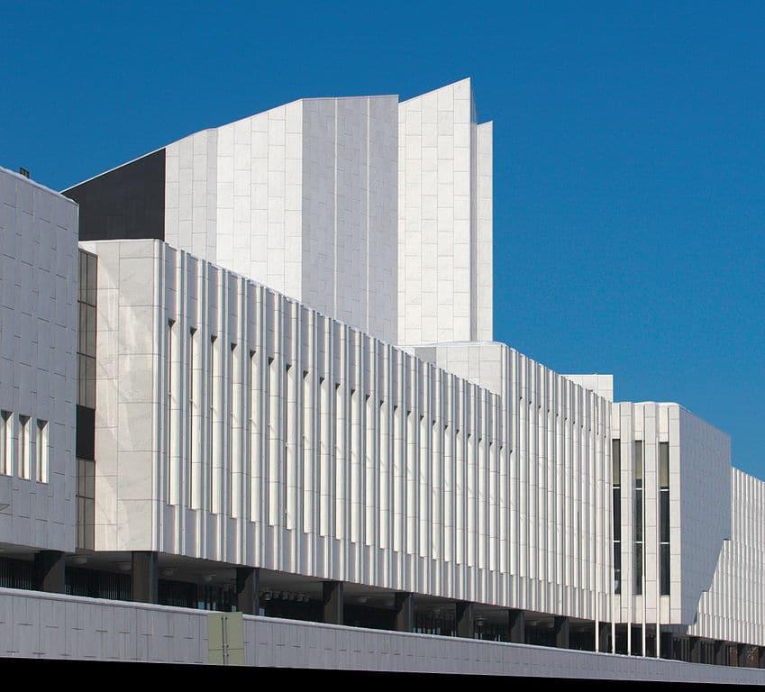 Finlandia Hall, construction d'Aalto à Helsinki - Photo de Thermos