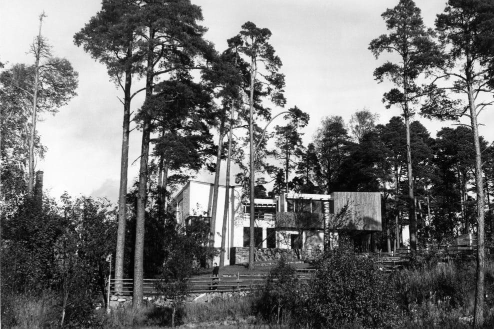 Maison d'Alvar Aalto à Helsinki dans les années 1930.