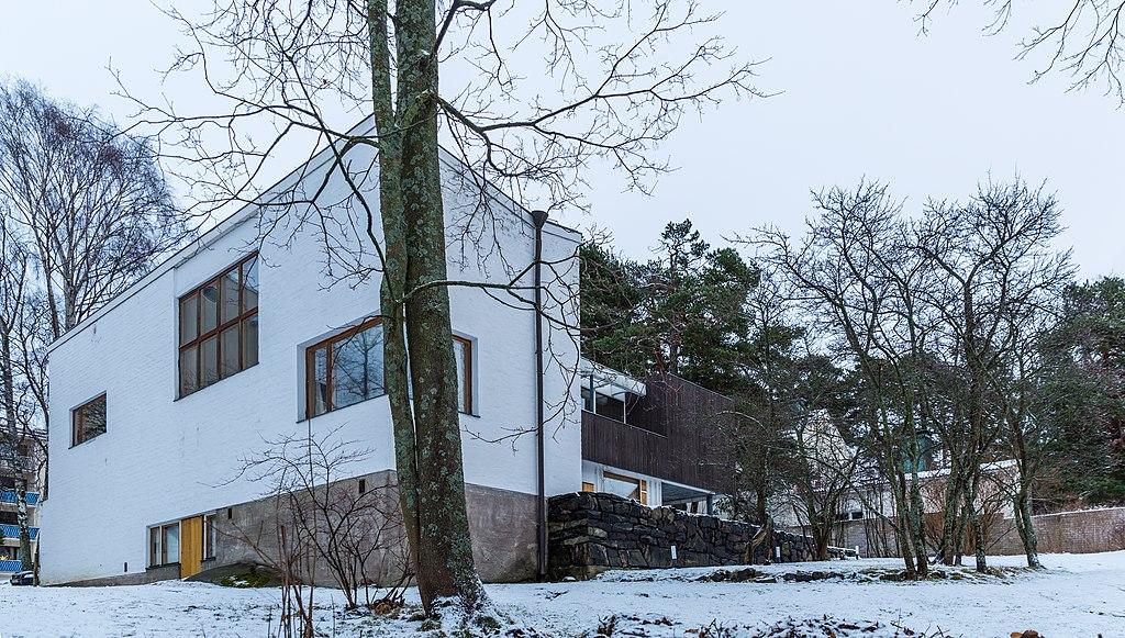 Maison d'Alvar Aalto à Helsinki - Photo de Ninara