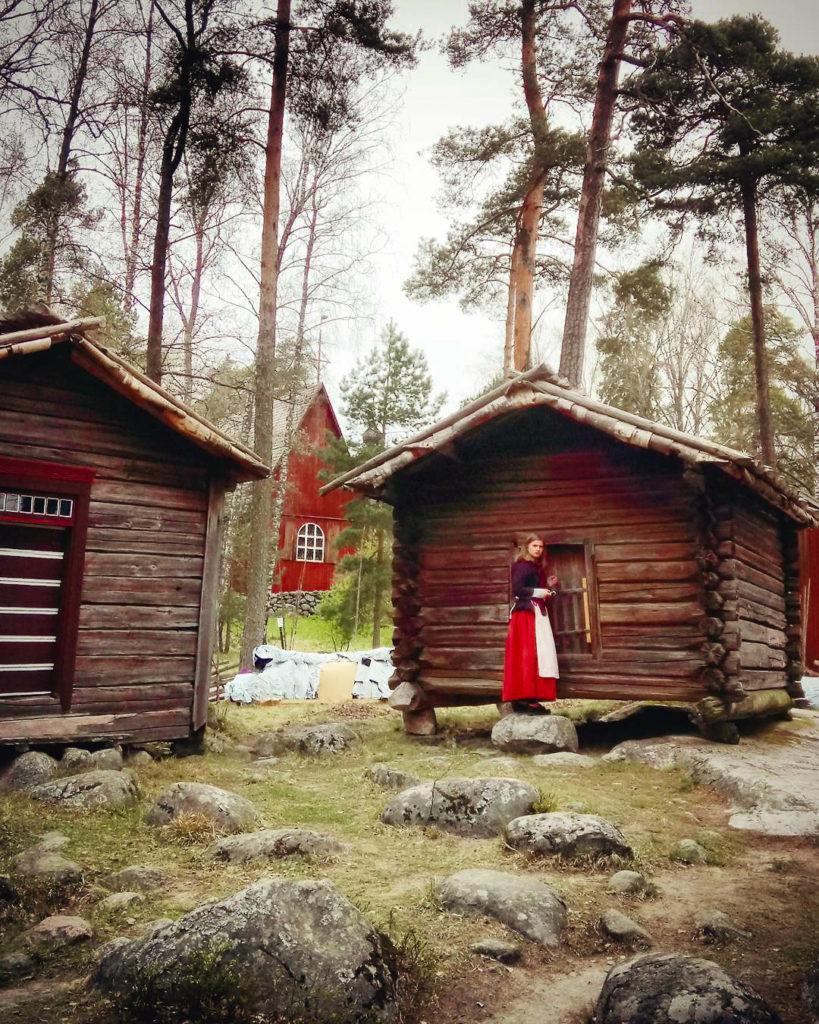 Seurasaari, parc et musée ethnographique en plein air (Skansen) d'Helsinki - Photo d'Anna Kurmaeva
