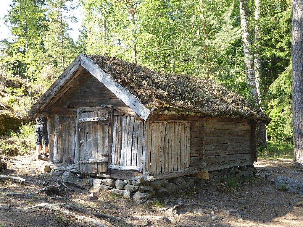 Seurasaari, parc et musée ethnographique en plein air (Skansen) d'Helsinki - Photo de Nino Bis.