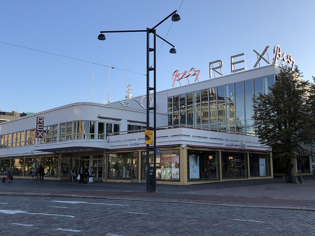 Musée d'art Amors Rex à Helsinki. Photo de Vadelmavene
