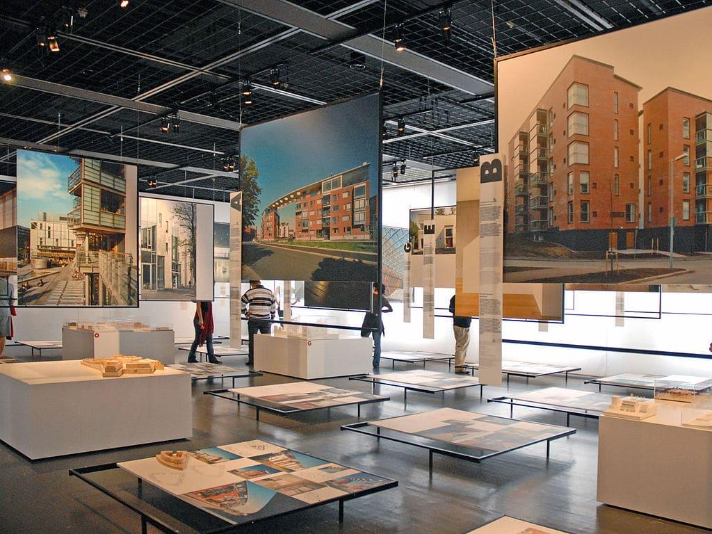 Dans le Musée d'architecture d'Helsinki.