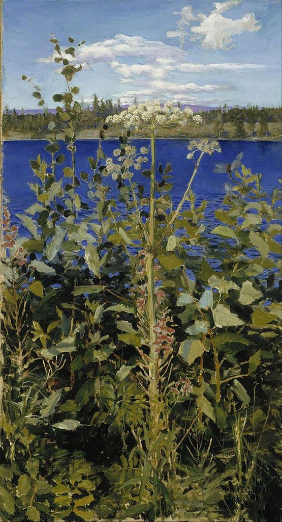 Oeuvre d'Akseli Gallen Kallela (1889) au Musée Ateneum à Helsinki.
