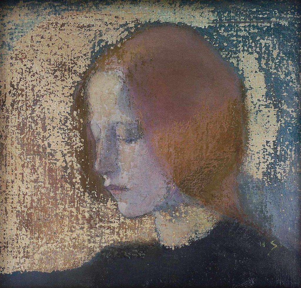 Fragment de Helene Schjerfbeck au Musée Gyllenberg à Helsinki