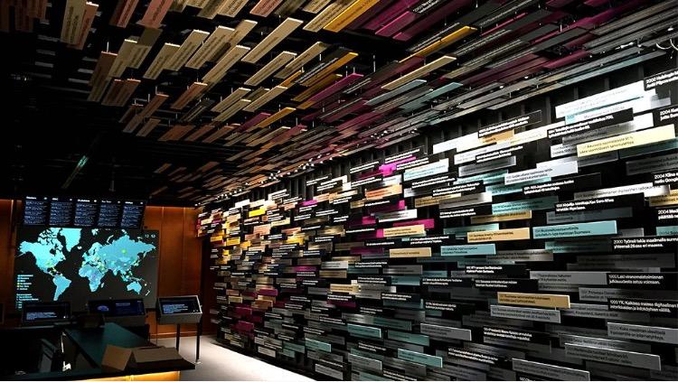 Paivalehden, musée des médias à Helsinki.