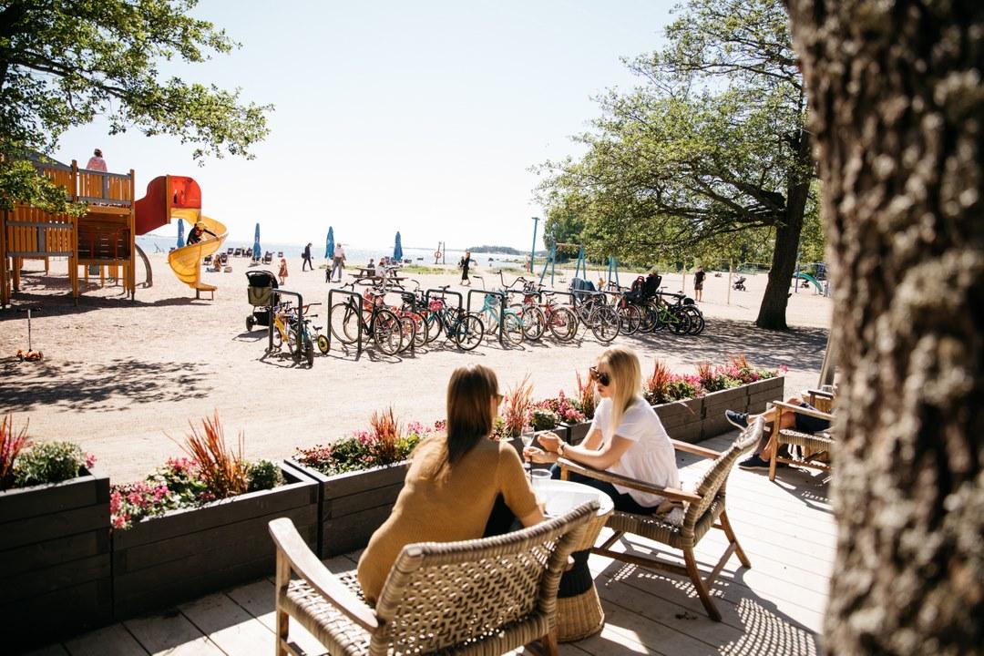 4 plages et piscines à Helsinki : Se baigner été ou hiver