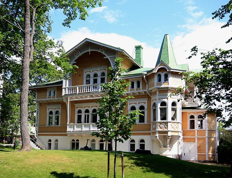 Belle villa dans le sud d'Helsinki - Photo de Mahlum