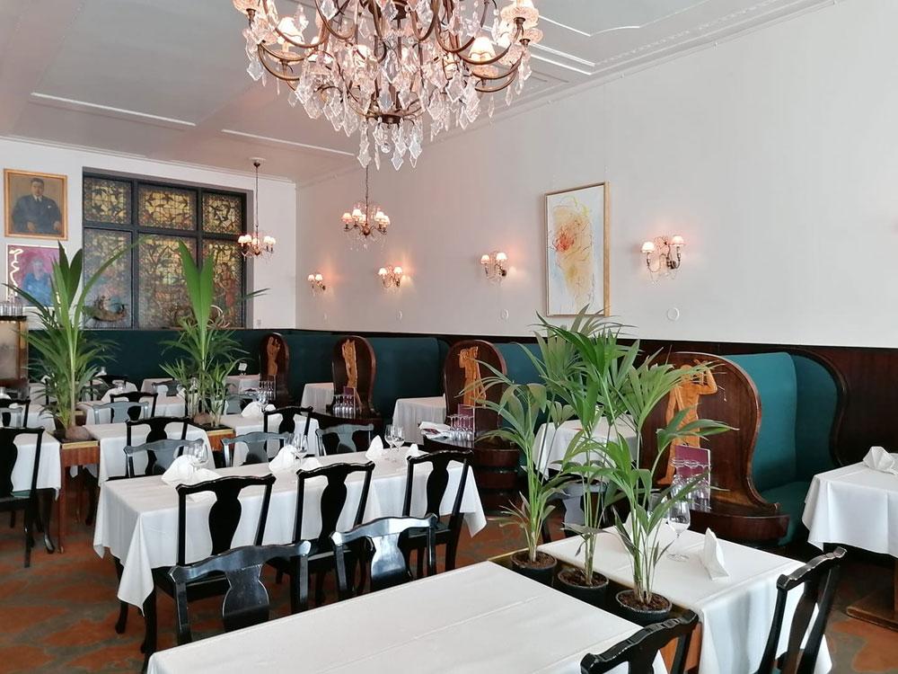 Restaurant Kosmos à Helsinki.