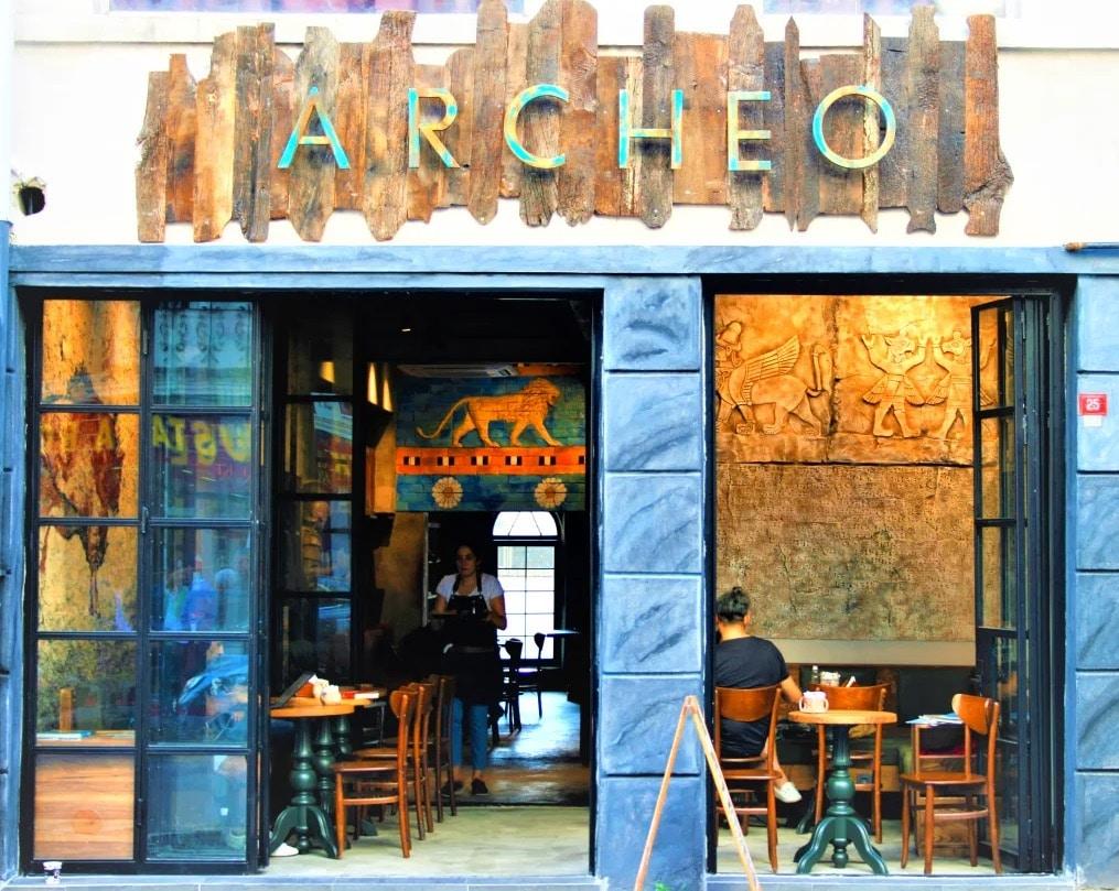 Auberge de jeunesse Archeo Hostel à Istanbul.