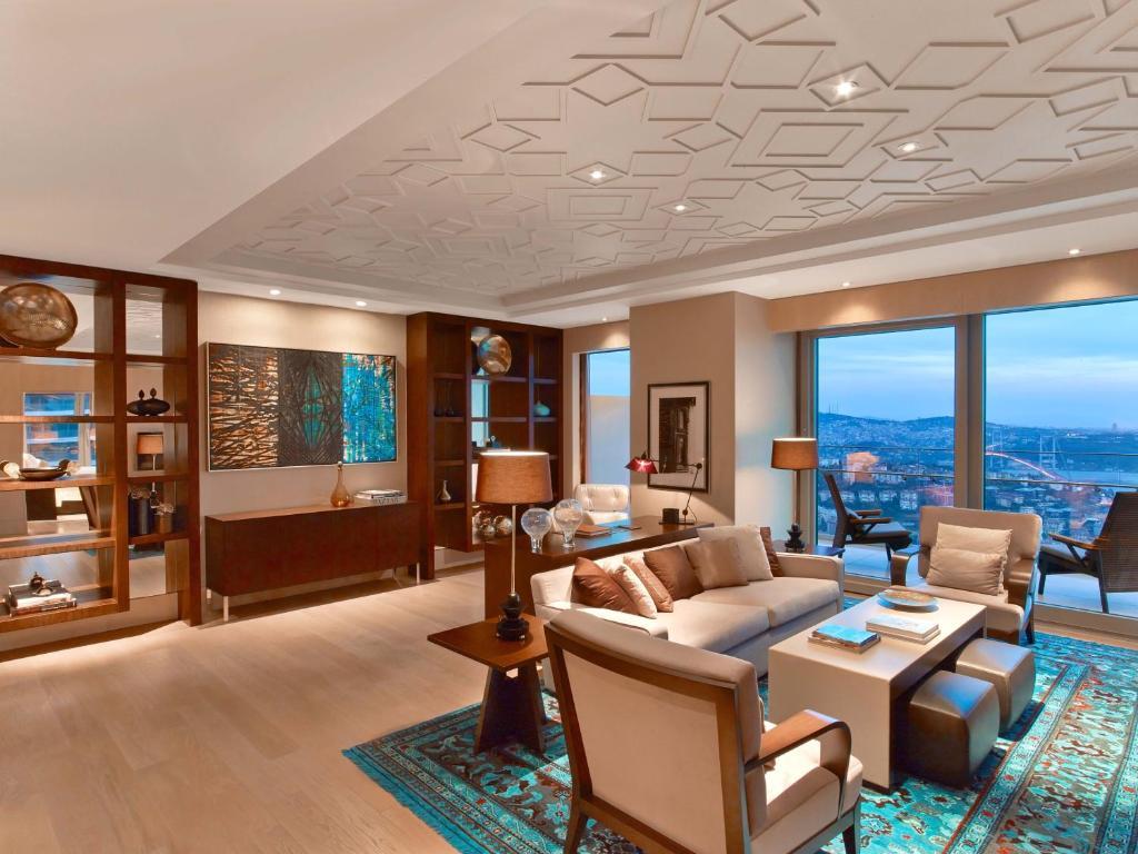 Hotel de luxe à Istanbul : Raffles Istanbul.