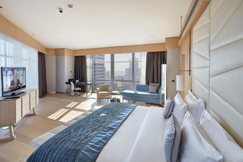 Hotel de luxe à Istanbul : Wyndham Grand Istanbul Levent