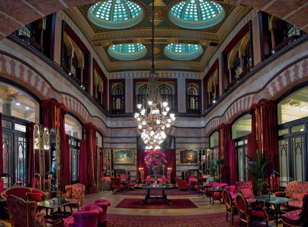 Hotel de luxe à Istanbul : Pera Palace.