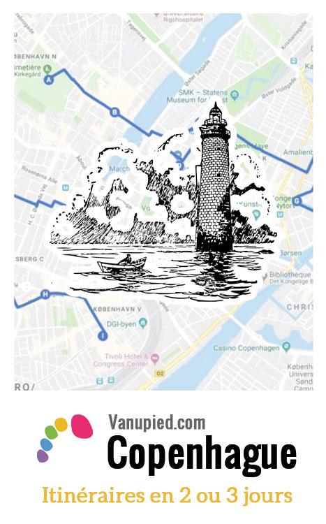 > Tous les Itinéraires pour un week-end : Que visiter et faire à Copenhague en 2, 3, 4 jours.