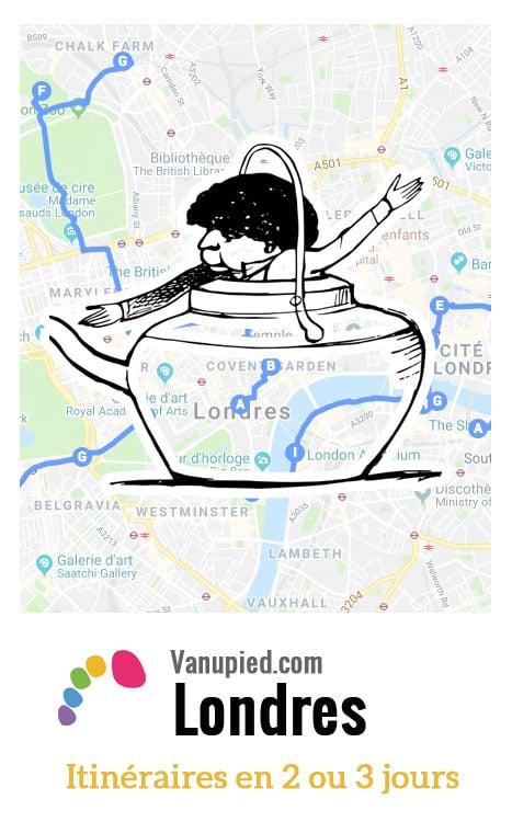 > Itinéraires week-end pour visiter Londres en 2, 3, 4 jours.