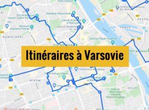 Visiter Varsovie en 1, 2 et 3 jours : Itinéraires de balades à télécharger