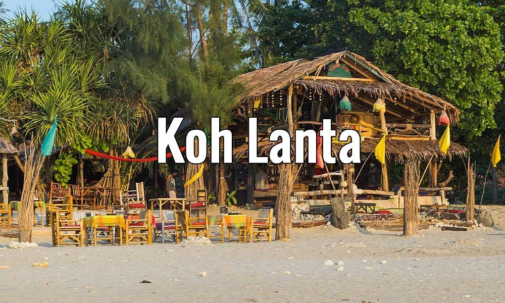 Visiter l'île de Koh Lanta en Thailande pendant un week-end ou plus. Photo de Marcin Konsek