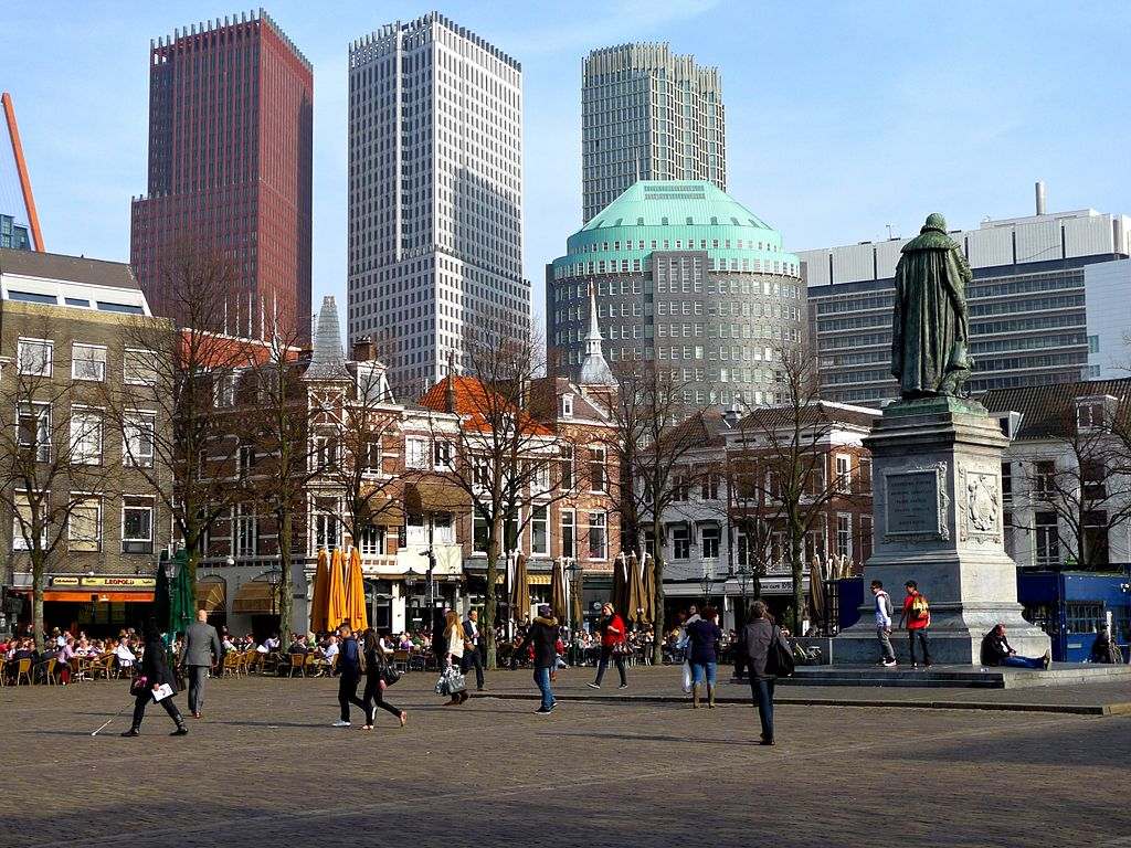 La Haye (Den Haag) et la plage de Scheveningen