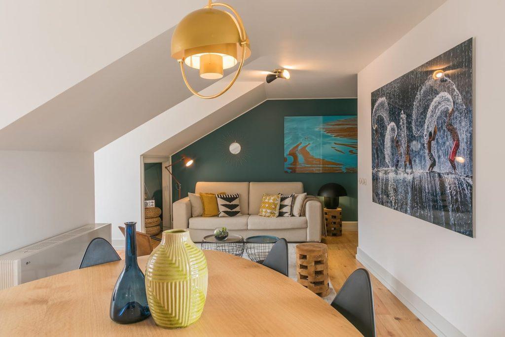 Airbnb à Lisbonne : Appartement dans le centre historique.