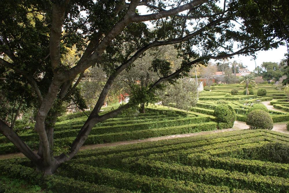 Partie basse du Jardin botanique d'Ajuda à Lisbonne