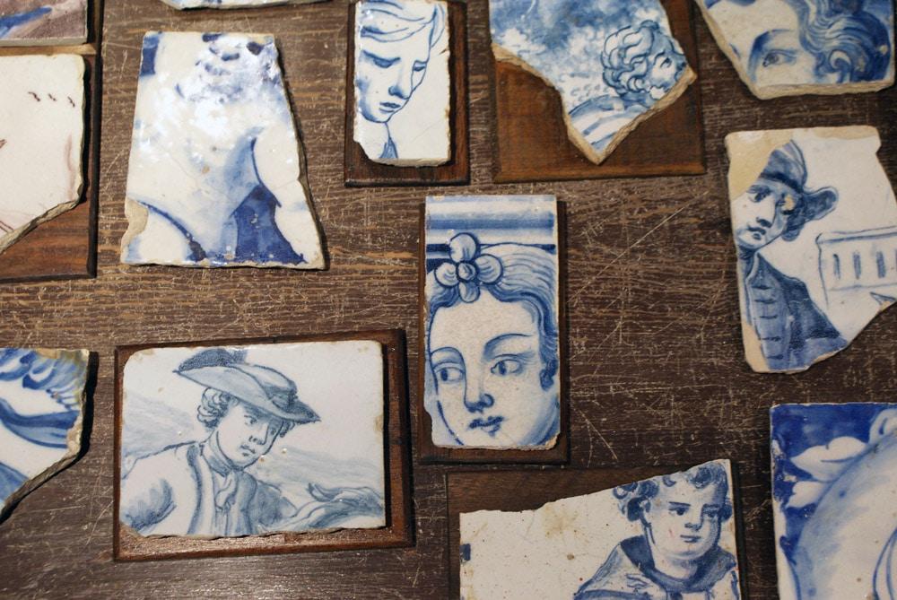 Antiquaire à Lisbonne où acheter des azulejos.