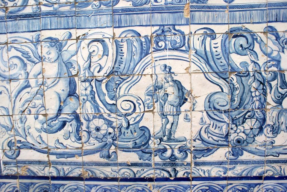 Fresque du Musée de l'Azulejo à Lisbonne.