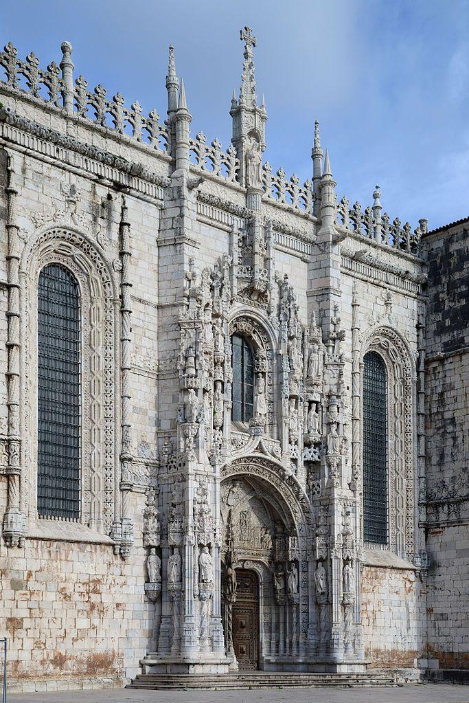 Porte sud du Monastère des Jerónimos à Lisbonne – Photo de Alvesgaspar
