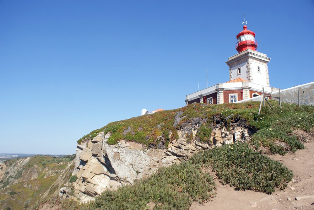 Phare de Cabo da Roca près de Sintra.