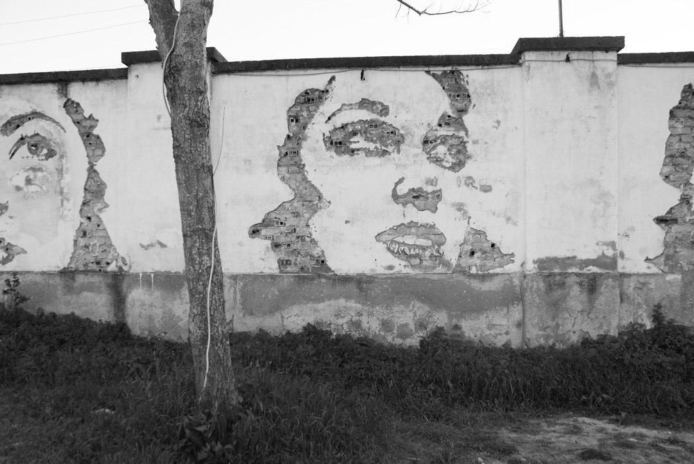 > Street art de Vilhs à Lisbonne à Braco de Prata.