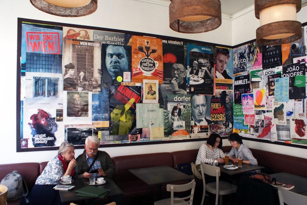 Kaffeehaus, café autrichien à Lisbonne.
