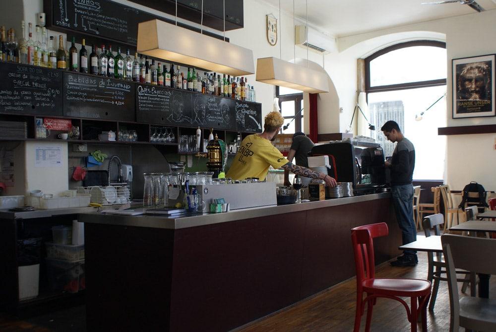 > Kaffeehaus, café autrichien à Lisbonne dans le quartier du Chiado.