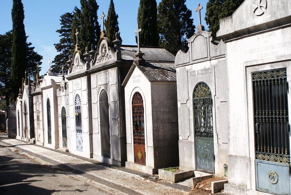 Cimetière de Prazeres à Lisbonne