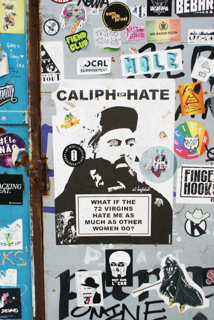 > Street art à la LX Factory à Lisbonne.