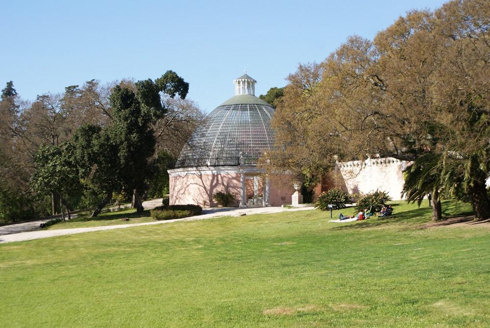 Jardin des Necessidades à Lisbonne