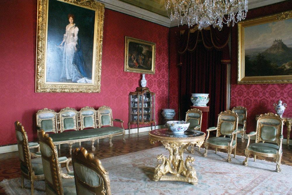 Enième pièce du Palais national d'Ajuda à Lisbonne.