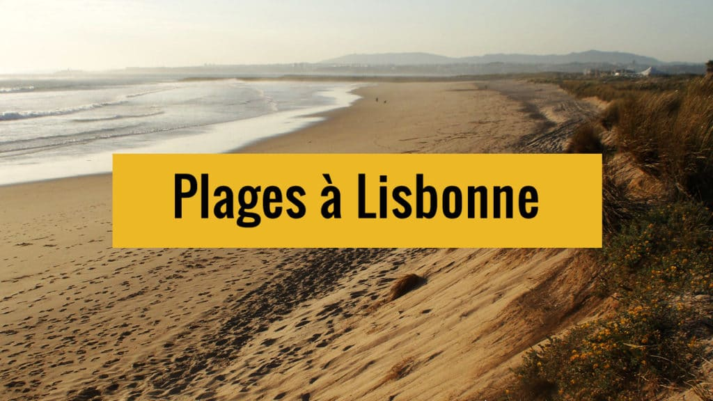 Quelques idées de plages autour de Lisbonne où apprécier la mère Nature.