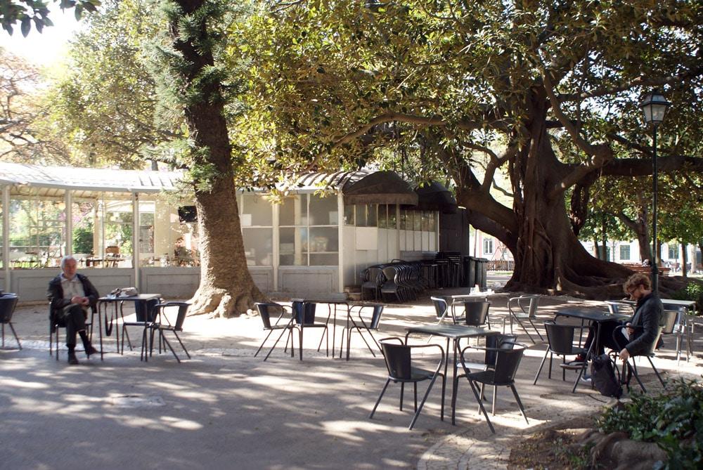 Jardin de Principe Real à Lisbonne