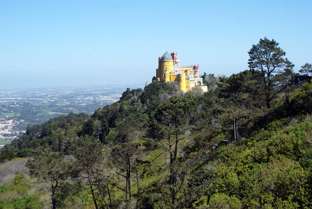 Palais de Pena, surprise multicolore de Sintra et son incroyable jardin.