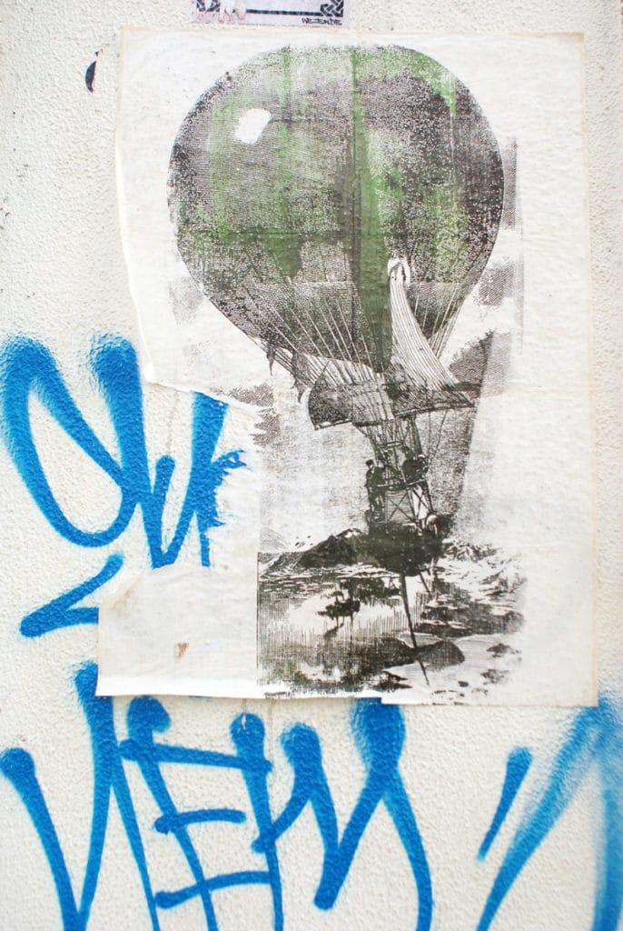 > Street art dans le quartier de Cais do Sodré à Lisbonne.