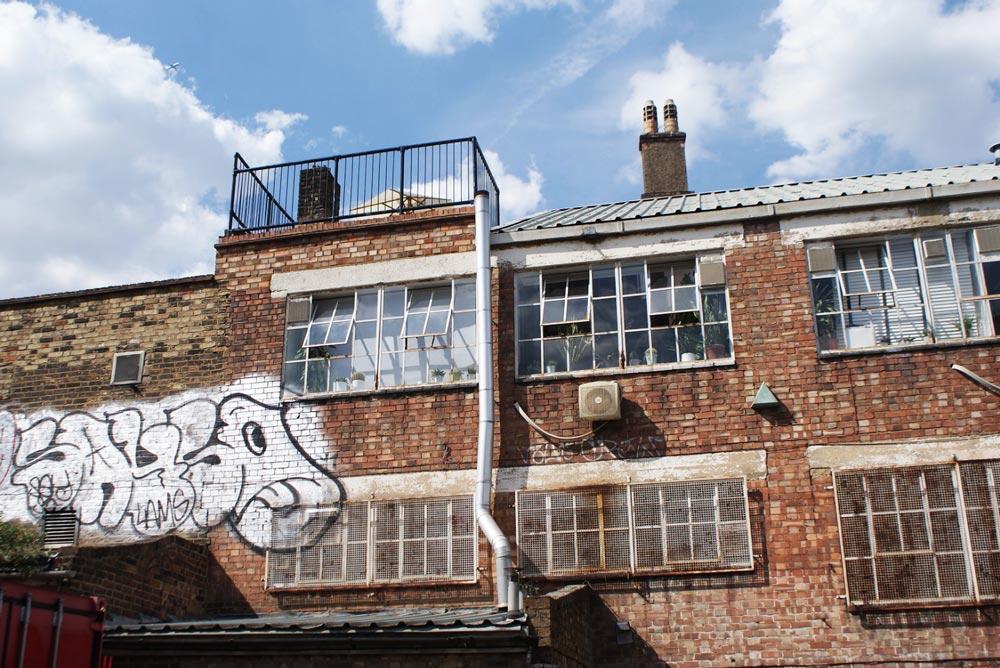 Dans le quartier de Dalston à Londres.