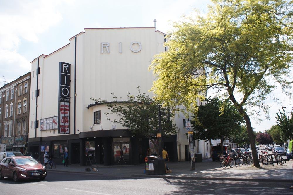 Rio, cinema d'art et d'essai dans le quartier de Dalston à Londres