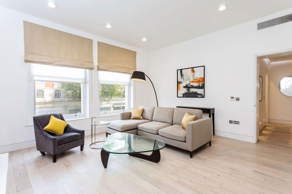 Airbnb à Londres : Appartement bien en location à Kensington.